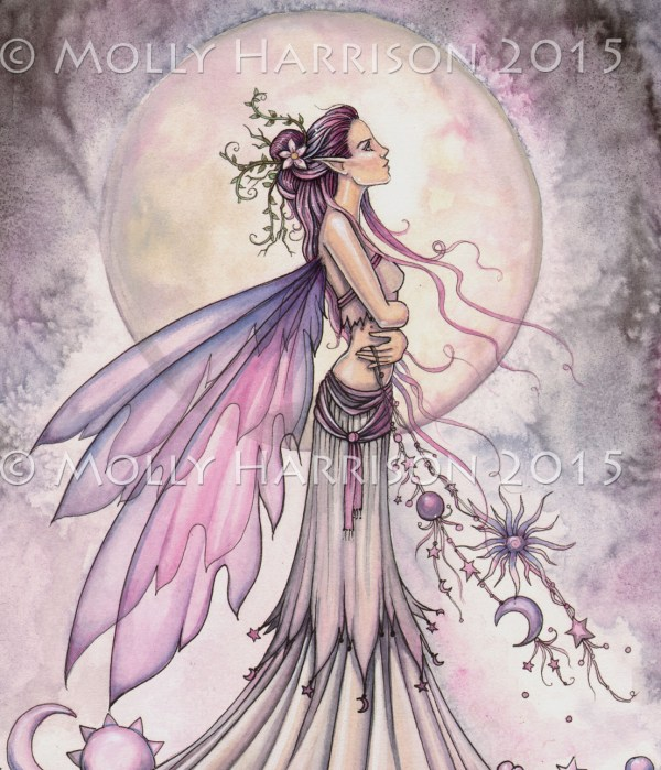 Molly Harrison Fairy Art