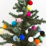 Felted Garland A Holiday Decor Diy Molly Jo Collection
