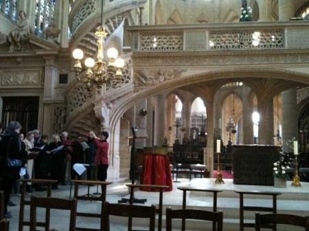 St Etienne Church Paris