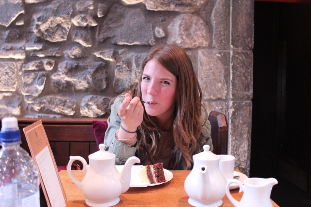 Carrot Cake Edinburgh Castle Molly