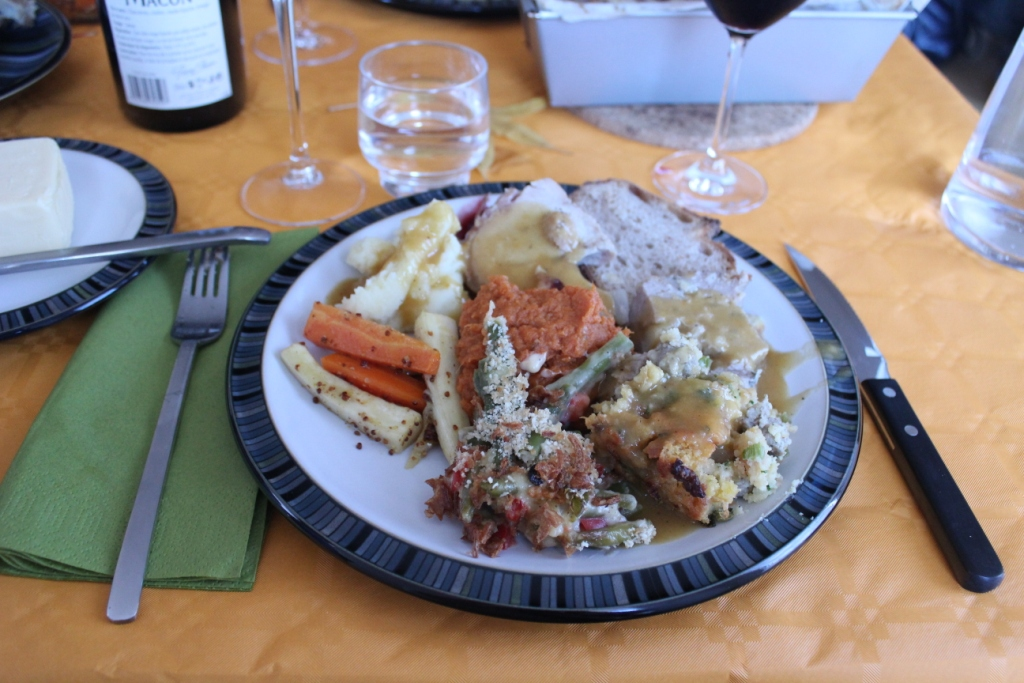 Thanksgiving Plate