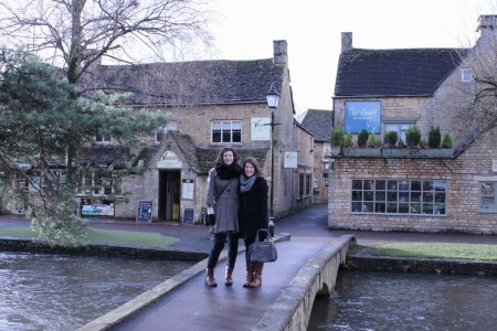 Bourton on the Water- Me and Jenni