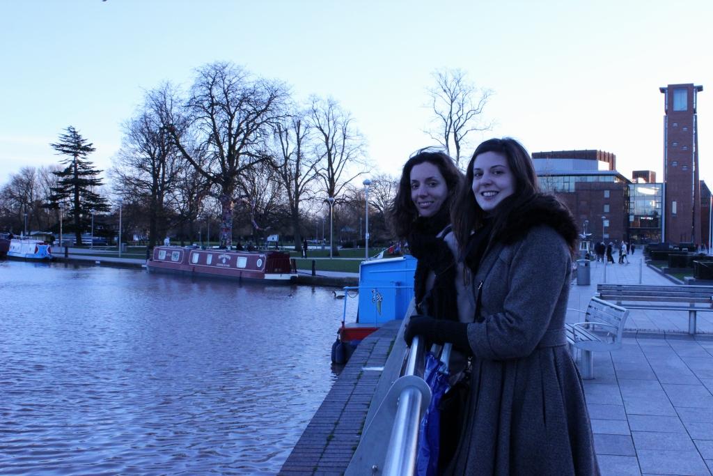 Jenni and Joe-Stratford Canal