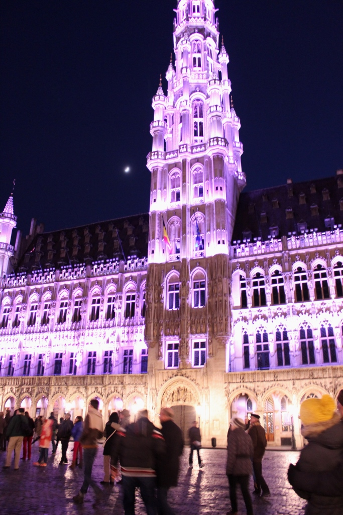 Grand Place Light Show2