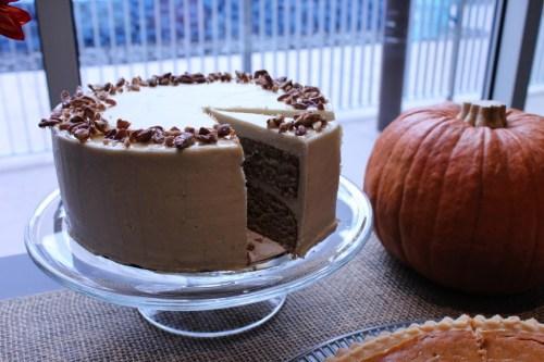 Maple Cake Slice
