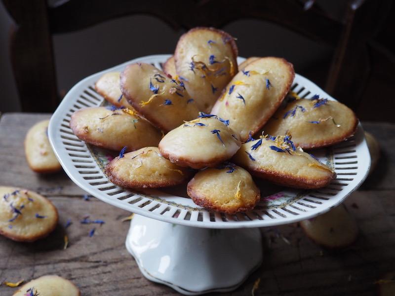 Glazed French Madeleine Recipe