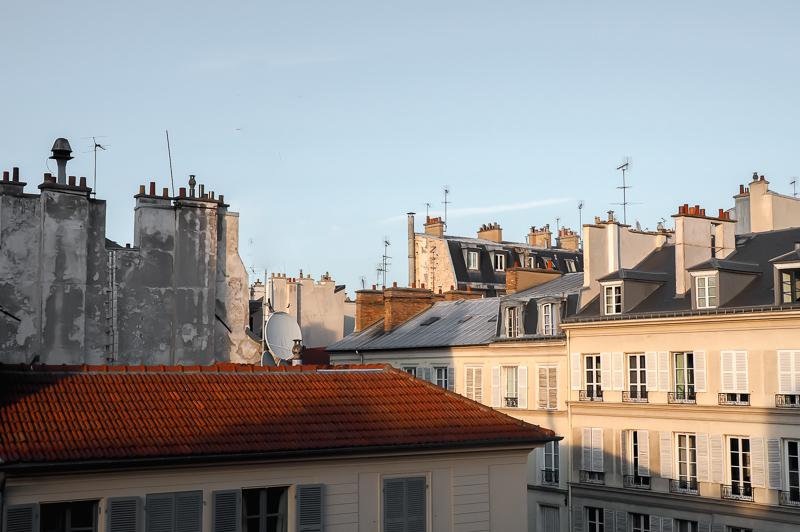 Versailles rooftops