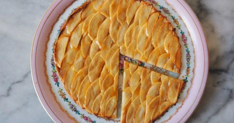 Three Ingredient French Apple Tart