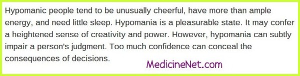 Is Hypomania Always a Bad Thing?