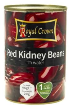 Tinned kidney Beans