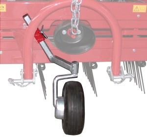 Terza ruota pneumatica piroettante