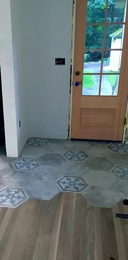 Tile Floor  Tile Design  Madison WI  Molony Tile