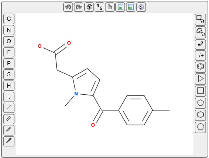 Molsoft L.L.C.: Molsoft HTML5 Molecule Editor