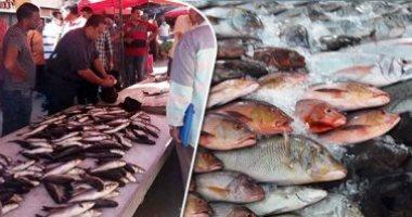 صورة أسعار الأسماك اليوم بسوق العبور للجملة.. انخفاض البلطي المزارع