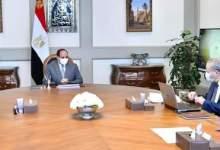 صورة الرئيس يتابع مخطط إنشاء ورفع كفاءة الصوامع والمخازن الاستراتيجية على مستوى الجمهورية،
