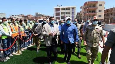 صورة رئيس الوزراء يتابع تطوير المحاور المرورية بالإسكندرية بتفقد استكمال محور المحمودية
