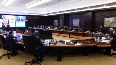 صورة وزير الشباب والرياضة يستعرض تقريرا عن نتائج مشاركة البعثة المصرية في دورة الألعاب الأوليمبية