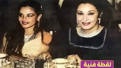 """صورة صورة نادرة للفنانة """"شريهان"""" مع والدتها"""