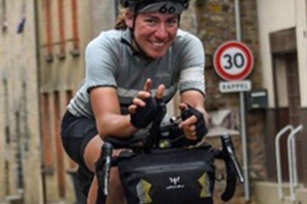 Fiona Kolbinger, winner, 2019 Transcontinental Race