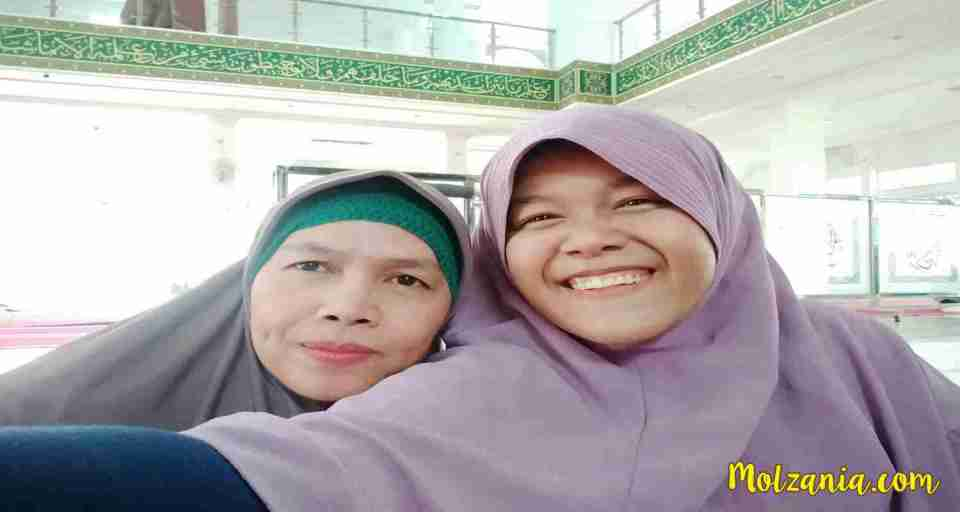 Manasik with my mom