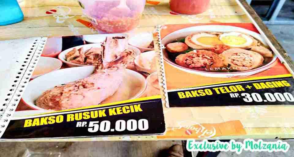 bakso rusuk dan bakso telur daging jawara palembang