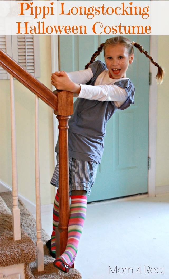 Pippi Longstocking Halloween Costume Free Mom 4 Real