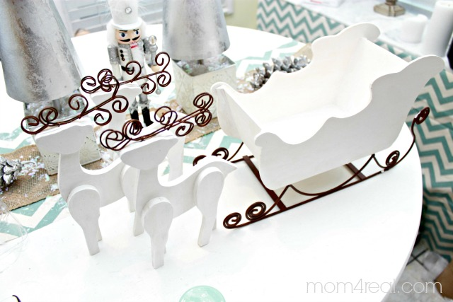 Paint a Santa Sled Centerpiece