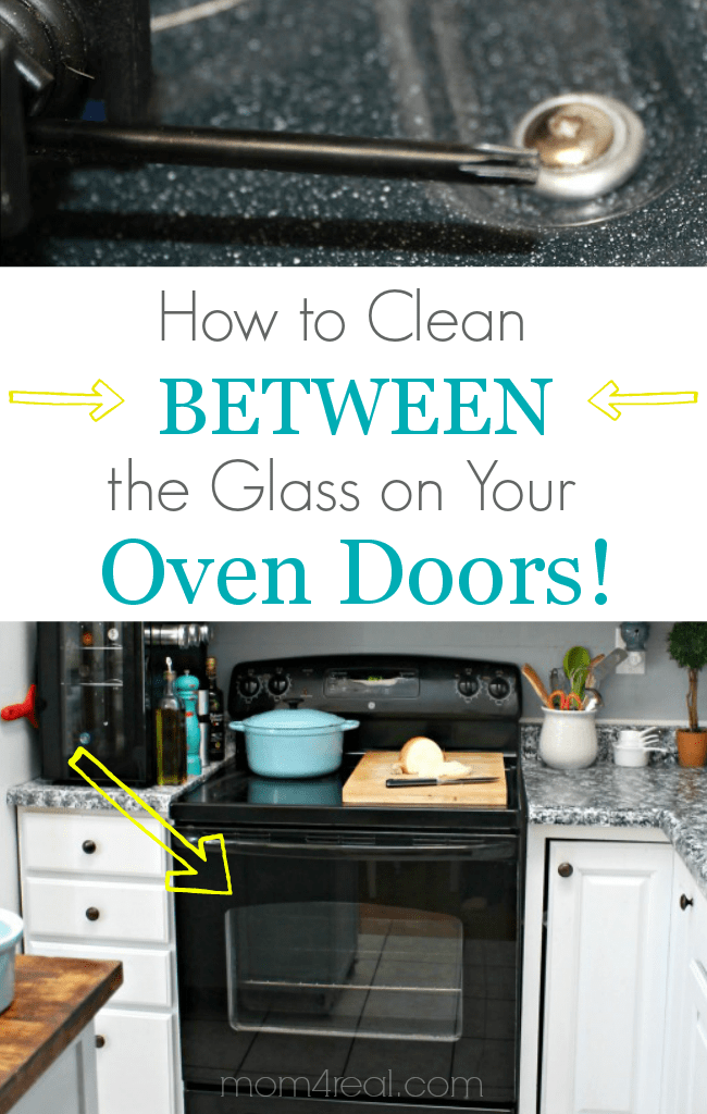 How To Clean An Oven Door In Between The Glass  Mom 4 Real