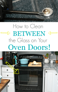 Oven Cleaning: Cleaning Oven Door Glass