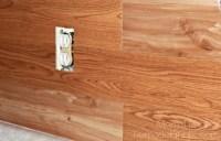Inexpensive Backsplash Idea ~ Faux Plank Wall - Mom 4 Real