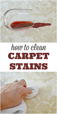How To Clean Carpet Stains Quickly - Mom 4 Real