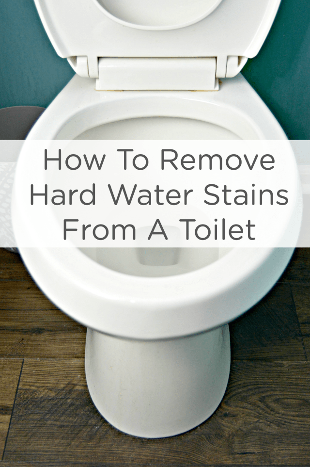 How To Remove Hard Water Stains From A Toilet Mom 4 Real