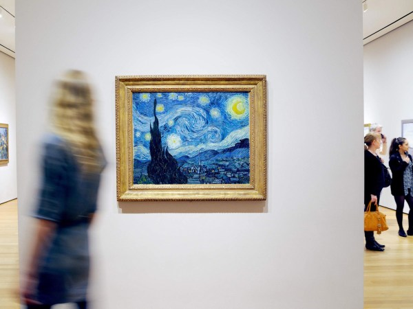 Van Gogh Starry Night Museum of Modern Art
