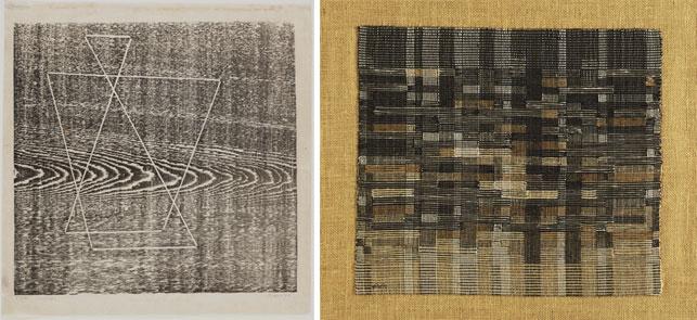 Josef Albers. Tlaloc. 1944. Anni Albers. Tapestry. 1948