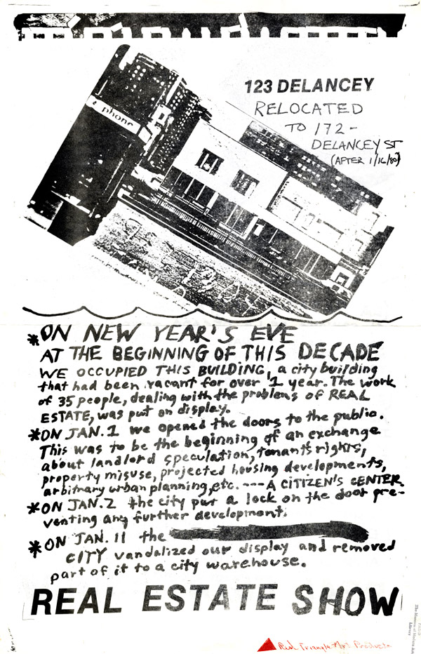 Invitations and event flyers from the MoMA Library/ part 2