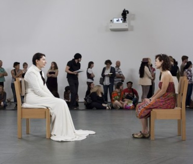 The Artist Is Present Marina Abramovic