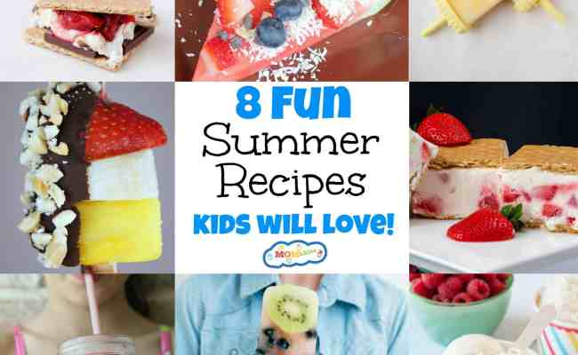 8 Fun Summer Recipes Kids Will Love Momables Good