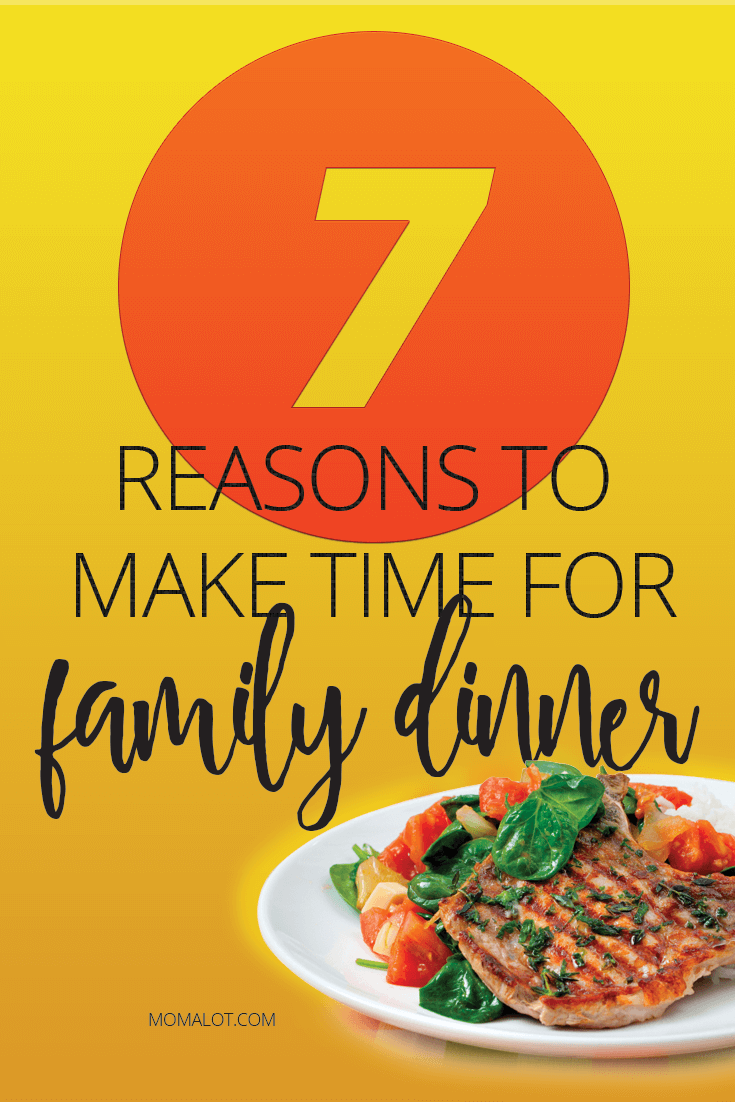 Family dinners have been proven to promote happiness & grow families closer. Discover compelling reasons to make time for family dinner.