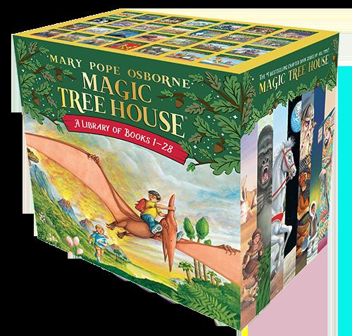 magic treehouse series books for boys momalot