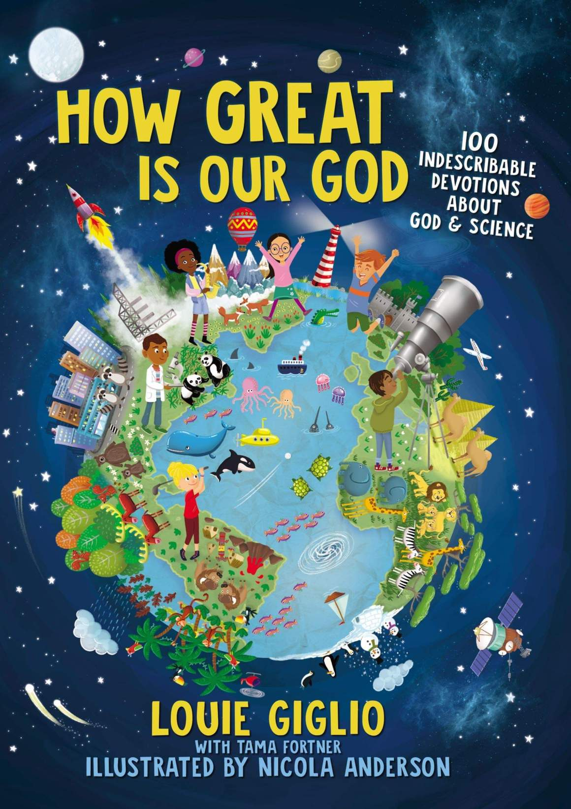 How Great is our God 100 devotions for kids