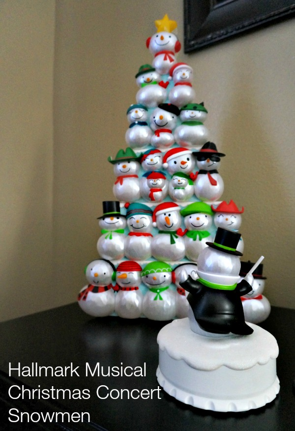 Hallmark Musical Christmas Concert Snowmen