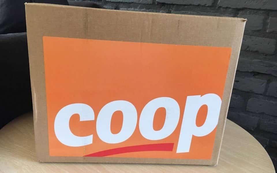 boodschappenpakket van Coop