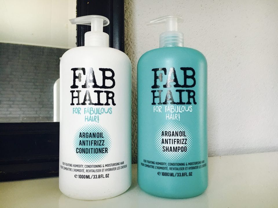 FAB Hair Arganolie Shampoo & Conditioner