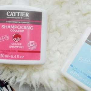 Sulfaatvrije shampoos van Cattier Paris