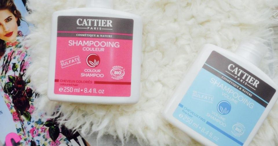 sulfaatvrije shampoos cattier Paris