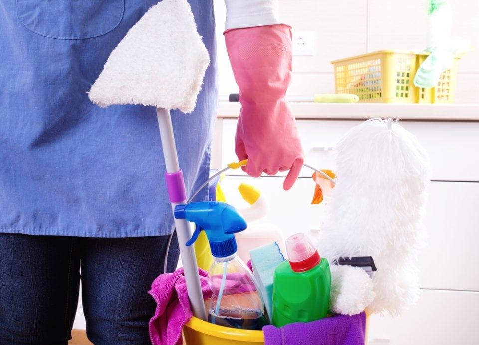 huis gemakkelijk schoon als werkende moeder