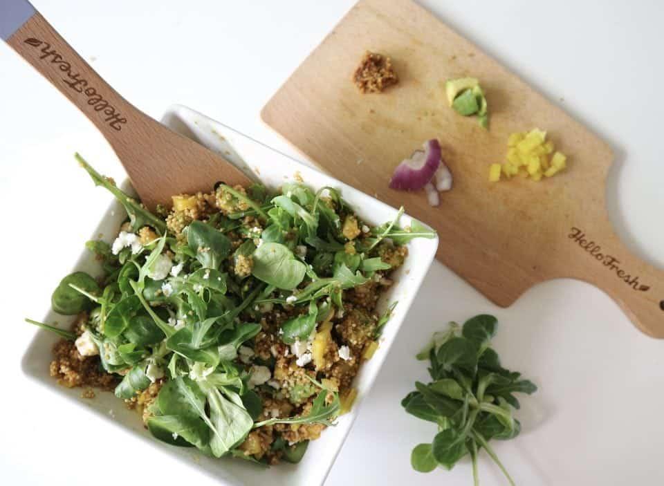 groene maandag hellofresh, quinoasalade
