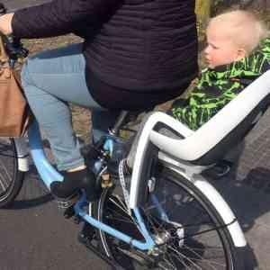 Hamax Caress fietszitje – Review + Win!