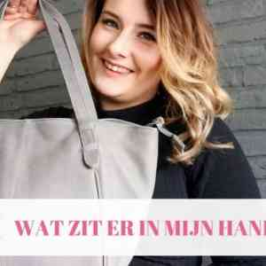 What's in my bag / Wat zit er in mijn handtas? Casual mom style
