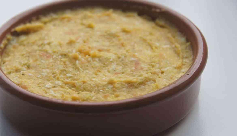 Zoete aardappel met kip